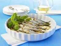 Sardinen mit Spinatfüllung Rezept
