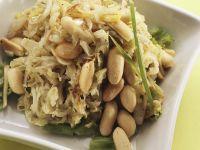 Sauerkraut-Bohnen-Salat Rezept