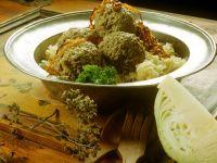 Sauerkraut mit Leberknödeln Rezept