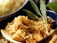 Sauerkraut mit Speck Rezept