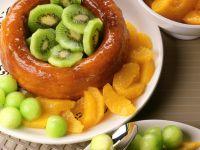 Savarin mit Früchten Rezept