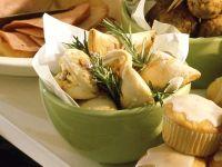 Schafskäse-Taschen Rezept