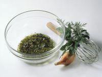 Schalotten-Kräuter-Vinaigrette Rezept