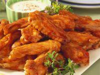 Scharfe Chicken Wings Rezept
