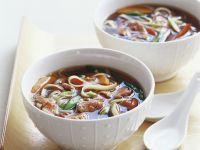 Scharfe Rindersuppe auf thailändische Art Rezept