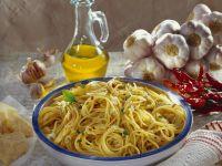 Scharfe Spaghetti aglio e olio Rezept