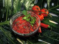 Scharfe Tomatensauce Rezept