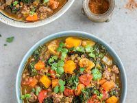 Scharfer Gemüse-Lamm-Eintopf Rezept