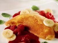 Schaumomelette mit Früchten Rezept