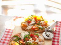 Schinken-Käse-Pizza Rezept