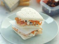 Schinken-Möhren-Sandwich Rezept