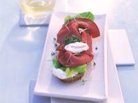 Schinken-Quark-Sandwich Rezept