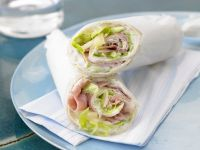 "Schinken-Wrap ""Hawaii"" Rezept"