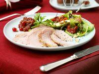 Schinkenbraten mit Salat Rezept