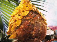 Schinkenkeule mit Ananas Rezept