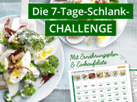 Schnell abnehmen: Die 7-Tage-Schlank-Challenge