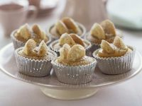 Schmetterlings-Muffins (Butterfly-Buns) Rezept