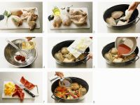 Schmorhuhn nach provenzialischer Art Rezept