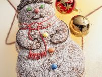 Schneemann-Kuchen Rezept