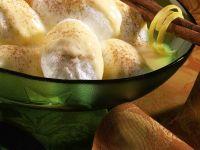 Schneenocken mit Vanillesauce Rezept