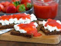 Schnelle Erdbeermarmelade Rezept