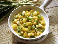 Schnelle Kartoffel-Eier-Pfanne Rezept