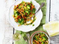 Schnelle Reispfanne mit Brokkoli Rezept
