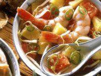 Schnelle Shrimpssuppe Rezept