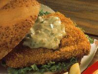 Schneller Fischburger Rezept