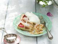 Schneller Rhabarberkuchen Rezept