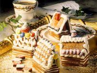 Schnelles Lebkuchenhaus Rezept