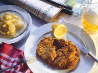 Schnitzel mit Kartoffelsalat Rezept