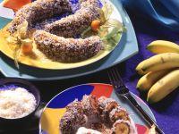 Schoko-Bananen im Kokosmantel Rezept