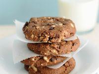 Schoko-Haselnuss-Cookies Rezept