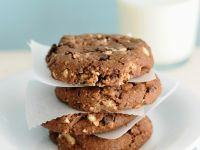 Schoko-Haselnuss-Cookies