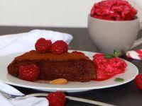 Nur 4 Zutaten: Schoko-Mandel-Kuchen