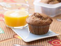 Schoko-Muffins mit Haferflocken Rezept