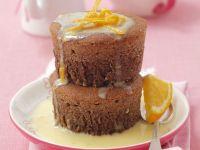 Schoko-Muffins mit weißer Schokolade