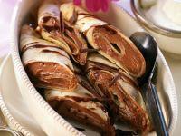 Schoko-Pfannkuchen Rezept