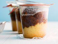 Schoko-Vanille-Kuchen im Glas Rezept