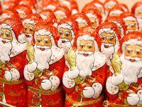Resteverwertung der süßen Schoko-Weihnachtsmänner