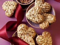 Schoko-Zimt-Herzen mit Liebesperlen Rezept