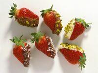 Schokoladen-Erdbeeren Rezept
