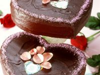 Schokoladen-Herztorte Rezept