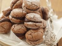 Schokoladen-Macarons Rezept