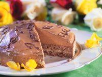 Schokoladen-Marzipantorte