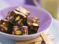 Schokoladen-Pistazien-Konfekt