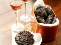 schokoladentaler mit schmetterlingen rezept eat smarter. Black Bedroom Furniture Sets. Home Design Ideas