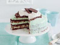 Schokoladentorte mit Minzcreme Rezept