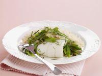 Schollenfilet mit Reis und Kräutern Rezept